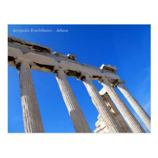 Acropolis Erechtheion - Athens Postcard