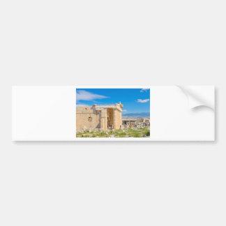 Acropolis in Athens, Greece Bumper Sticker