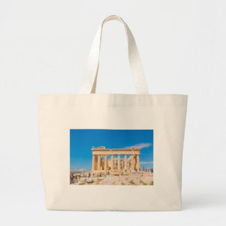 Acropolis in Athens, Greece Large Tote Bag