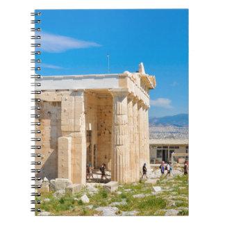 Acropolis in Athens, Greece Notebook