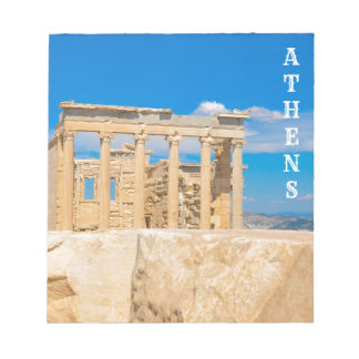 Acropolis in Athens, Greece Notepad