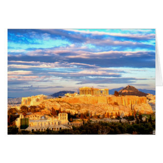 Acropolis of Athens Card