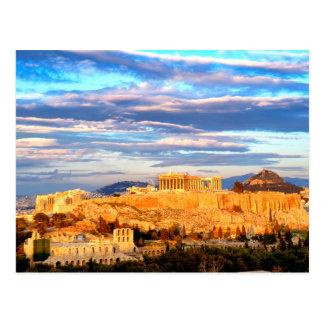 Acropolis of Athens Postcard
