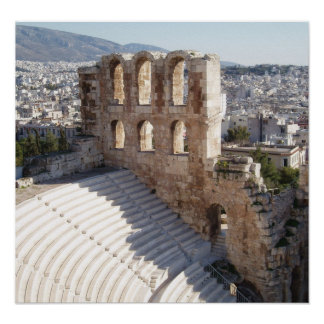 Acropolis Theater / Stadium Print