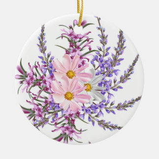 Acrylic ornament with Herbs