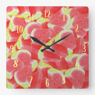 Acrylic resin Water melons clock