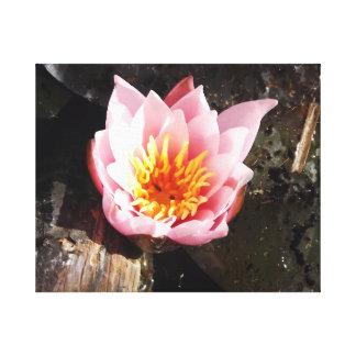 "Acrylic Wall Art, 24"" x 36"" - Lotus Flower Canvas Print"