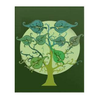 Acrylic Wall Art Personalise Family tree