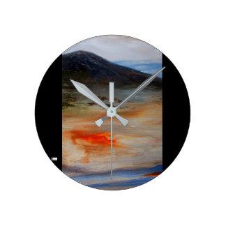 Acrylic Wall Clock Round (Medium) 14
