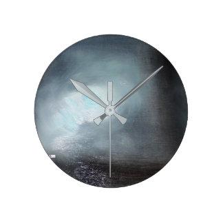 Acrylic Wall Clock Round (Medium) 15