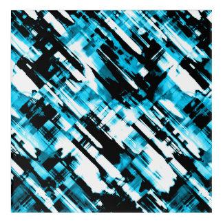 Acrylic WallArt BlueBlack abstract digitalart G253 Acrylic Wall Art