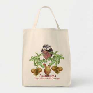 Acsumama Grocery Tote Bag