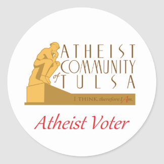 "ACT ""Atheist Voter"" Sticker"