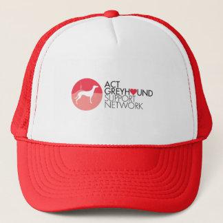 ACT Greyhound Support Network Logo Cap