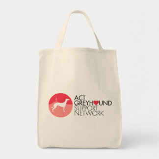 ACT Greyhound Support Network Logo Tote Bag
