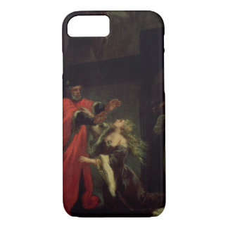 Act I, scene 3: Desdemona kneeling at her father's iPhone 7 Case