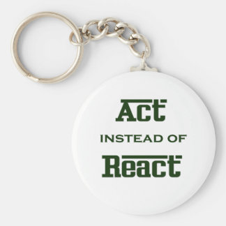 Act instead of React Keychain