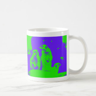 Act Natural Meerkat Pop Coffee Mug