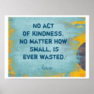 Act of Kindness - Art Print