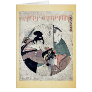 Act two of the Chushingura by Kitagawa, Utamaro Uk Card
