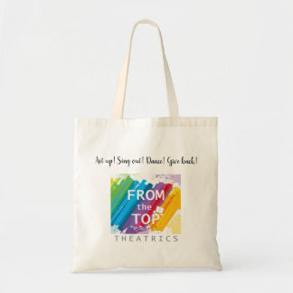 Act up! Budget tote bag