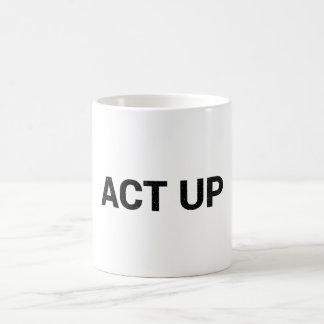 Act Up mug