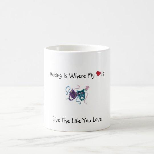 Act Where My Heart Is Coffee Mug