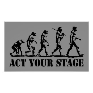 Act Your Stage Poster