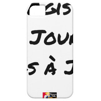 ACTED the D-DAY, not with J+1 - Word games iPhone 5 Case