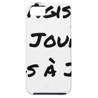 ACTED the D-DAY, not with J+1 - Word games iPhone 5 Cover