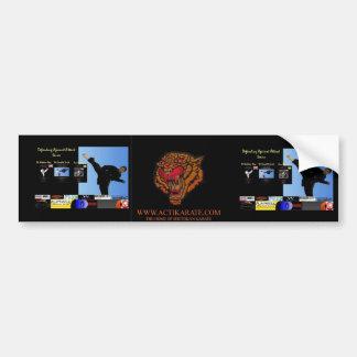 Actikarate Series Bumper Sticker