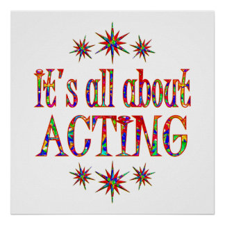 ACTING POSTER