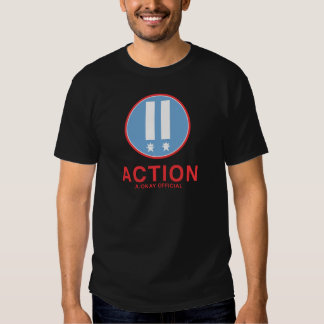 Action A.Okay Official T-shirts