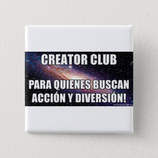 Action and diversion 2 inch square button