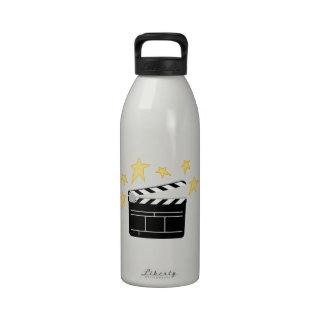 Action Clapperboard Reusable Water Bottle