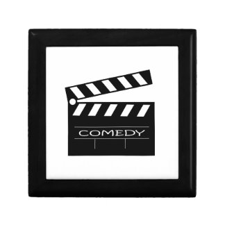 Action - comedy movie. gift box