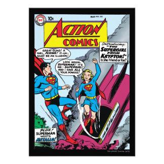 Action Comics #252 Invitation