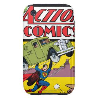 Action Comics #33 Tough iPhone 3 Cases