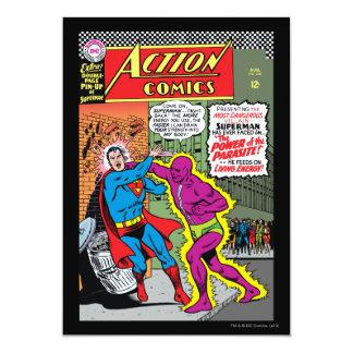 "Action Comics #340 5"" X 7"" Invitation Card"