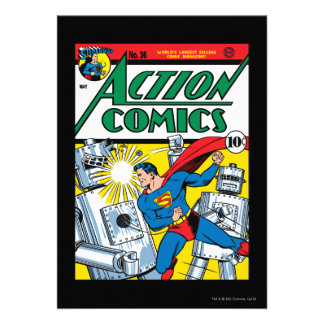 Action Comics #36 Invitations