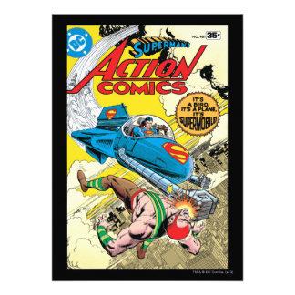Action Comics #481 Announcements