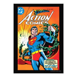Action Comics #485 Custom Invitation