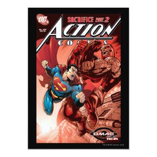 "Action Comics #829 Sep 05 5"" X 7"" Invitation Card"