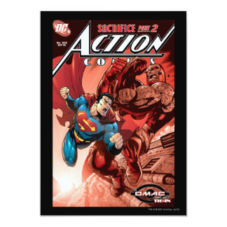 Action Comics #829 Sep 05 Personalized Invite