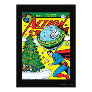 "Action Comics #93 5"" X 7"" Invitation Card"