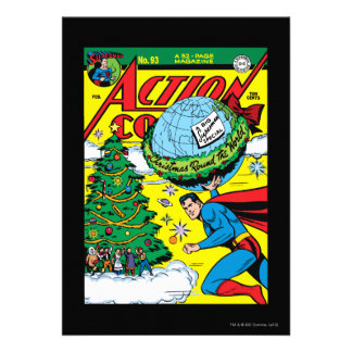 Action Comics #93 Custom Invites