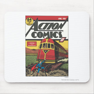 Action Comics - June 1939 Mouse Pad