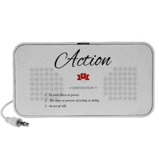 Action Defined Notebook Speaker