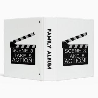 Action Directors Clapboard Binder
