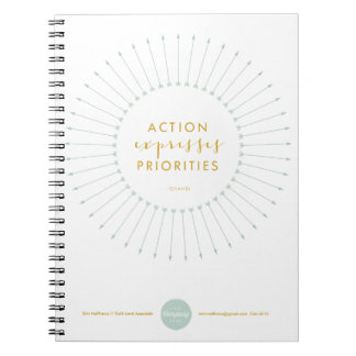 Action Expresses Priorities Notebook